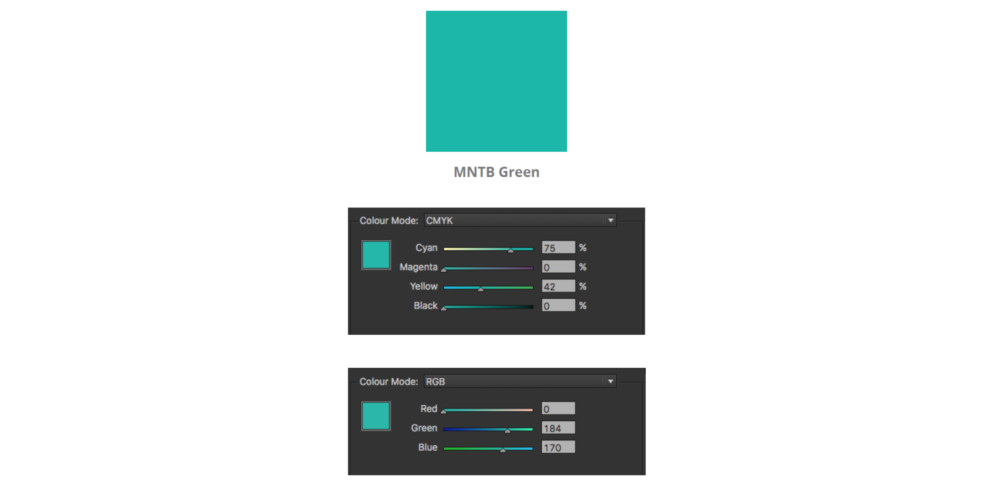 image of MNTB Green - colour specification